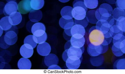 bokeh garland disco is not in focus