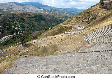 The Hellenistic Theater in Pergamon
