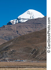 Sacred mountain in Tibet - Mount Kailash