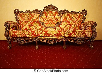 Vintage luxury sofa