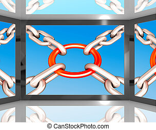 Chains Joint On Screen Shows Unity