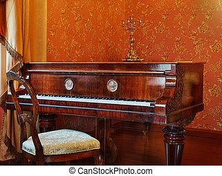 Luxury old piano
