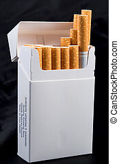Pack of Cigarettes - A pack of nicotine laden tobacco...