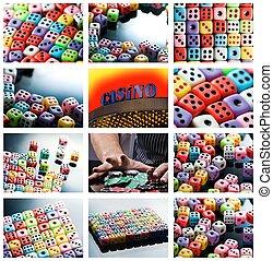 Casino collage
