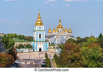 St. Michael's Golden-Domed Monastery. Kiev, Ukraine