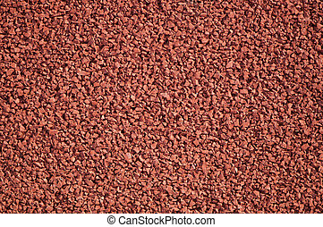 porous red background - area of detail
