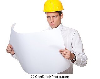 Picture of a handsome builder