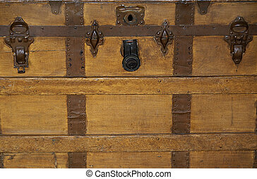 Antique Trunk Background