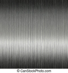 Shiny Brushed Stainless Steel Metal