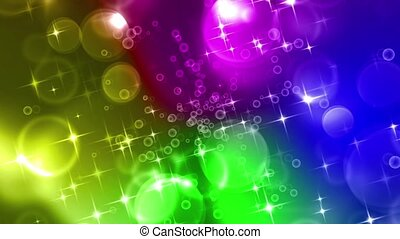 Holidays - Multicolor Background