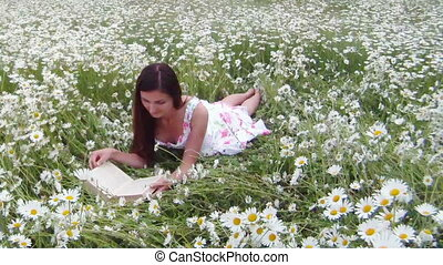 Reading in a field