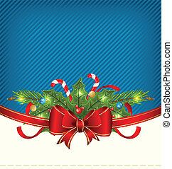 Christmas holiday packing, ornamental design elements