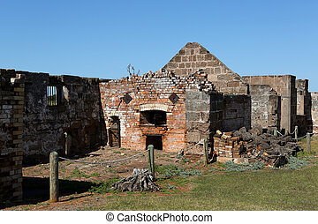 Penal Colony Buildings - Ruined buildings which are part of...