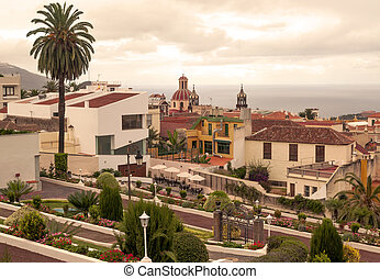Villa de la Orotava - View of the Villa de la Orotava in...