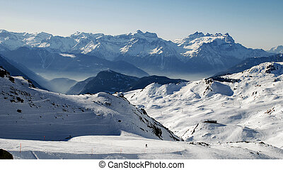 alpine view - with Dents du Midi