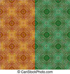 Ornamental seamless pattern Vecto - Seamless pattern vector...