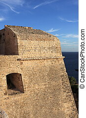 Medieval bastion in Ibiza