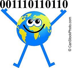 binary globe