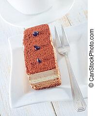 蛋糕, 巧克力