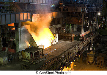 Metallurgy - Ferrous metallurgy, manufacture of pig-iron