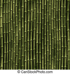 Bamboo plants - Rendered illustration of bamboo plant stems...