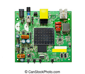 The circuit of an ADSL modem
