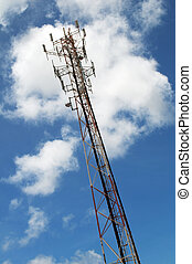 Telephone tower - Tower of communication for the repetition...