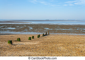 Southend Shoreline - Early morning scene at Southend looking...