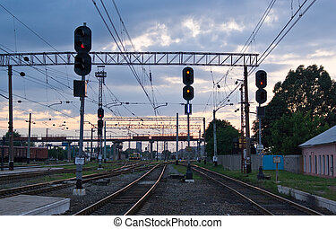 Railway traffic lights