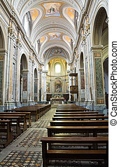 Cathedral of Sutri Lazio Italy