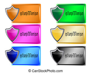 Header or Banner Design colorful
