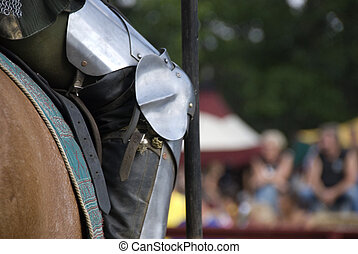 Knight\\\'s Knee - Stock photo of a close up of a...