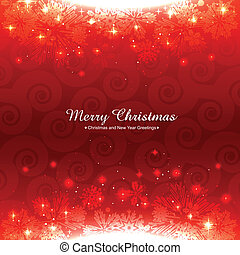 shiny red christmas background