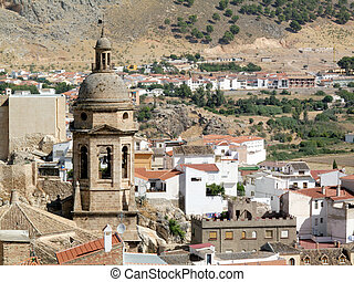 Church of Loja surrounding the city, southern Spain...