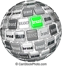 Many Brands One Unqiue Best Brand Sphere Top Choice - A...
