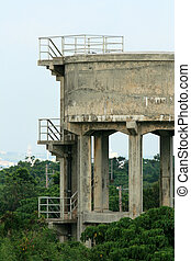 Water Tower - Taketomi Island , Okinawa, Japan