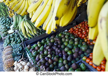 Fruit stall on Traditional Market