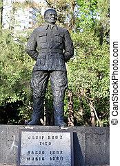 Joseph broz tito - Statue of Joseph broz tito in Mexico...