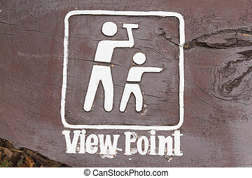 View point sign