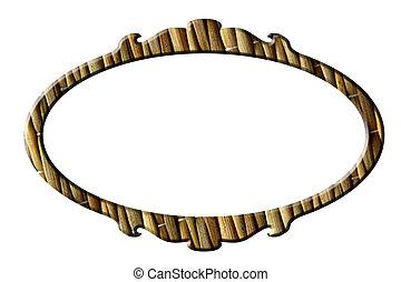 Straw mat portrait round frame - Straw mat round frame for...