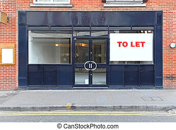 Shop to let - Vacant retail shop to let in London