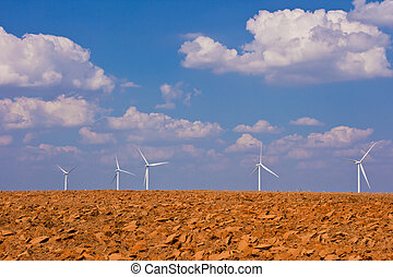 agriculture with wind turbine generator