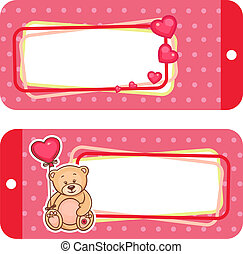valentine labels - Valentine Gift Tags With Cute Valentine...