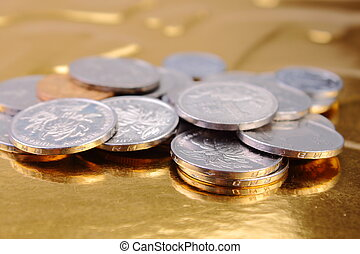 Chinese coins - Some coins of Chinese currency