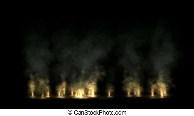 Fire wall,oilfield,military war