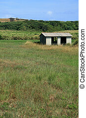 Hut in Field - Yonaguni Island, Okinawa, Japan