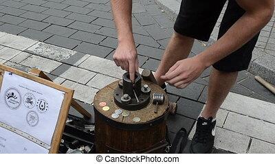 handmade coin capital day