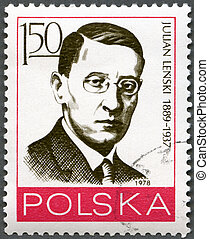 POLAND - 1978: shows Julian Lenski (1889-1937) - POLAND -...