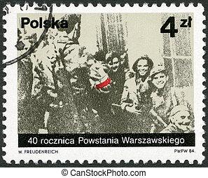 Polonia, -, 1984:, exposiciones, polaco, partisans, Miotla,...