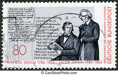 GERMANY - CIRCA 1985: A stamp printed in Germany shows...